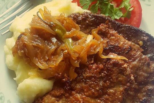 ox liver dish